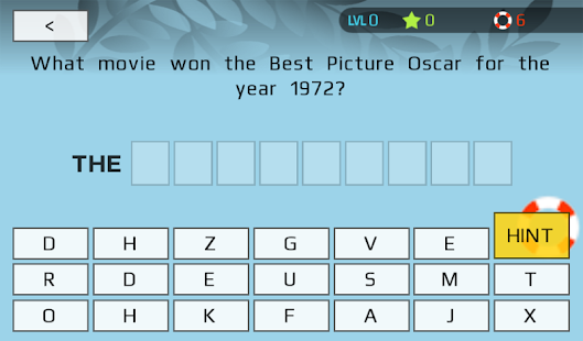 Oscars Trivia (Unofficial)- screenshot thumbnail