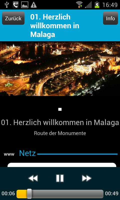 Audio Tour Offizielle Malaga - screenshot
