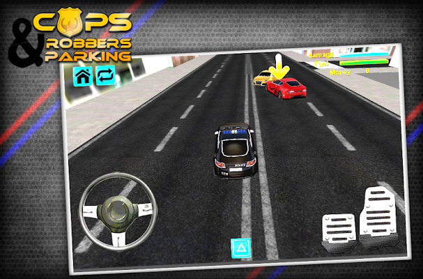 Cops and Robbers Simulation 3D - screenshot