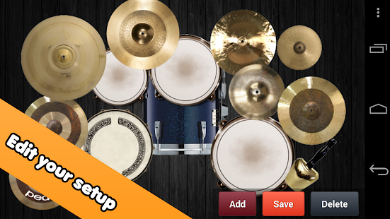 Drum kit: miniatura de captura de pantalla