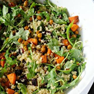 Crispy Chickpea & Butternut Squash Salad