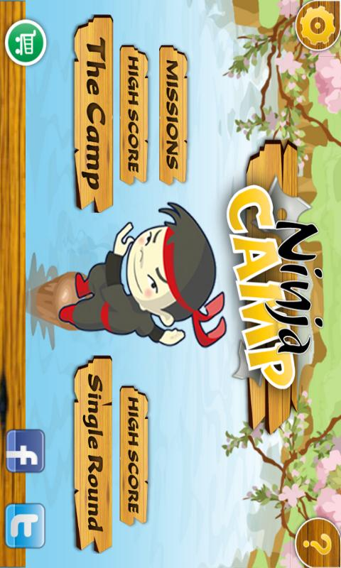 Ninja Camp - screenshot