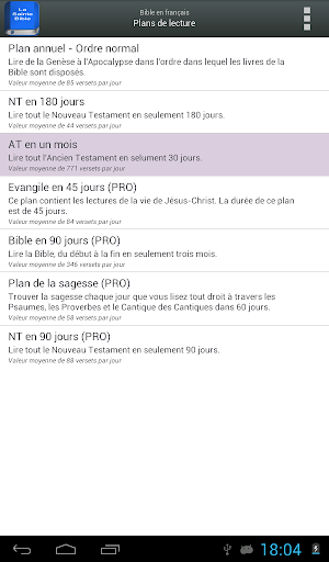 Bible en franu00e7ais Louis Segond  screenshots 14