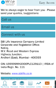 SBI Life Easy Access- screenshot thumbnail