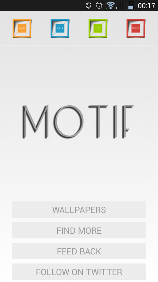 Motif - screenshot