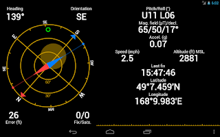 Screenshot of GPS Status PRO - key (25% off)