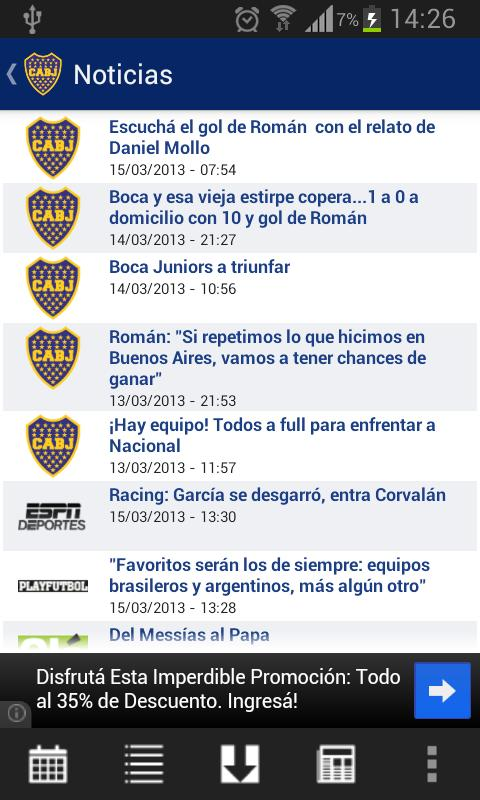 Futbol Argentino by CentroGol - screenshot