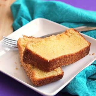 Cornmeal Pound Cake.