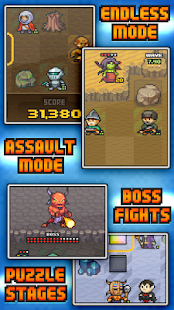 Pixel Defenders Puzzle - screenshot thumbnail