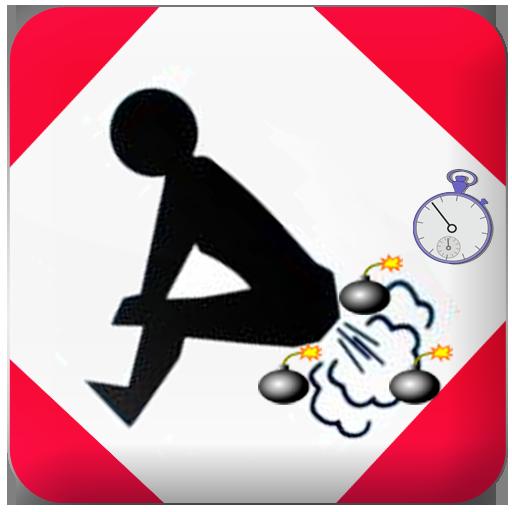 قنبلة إطلاق الريح المخجلة خدعة LOGO-APP點子