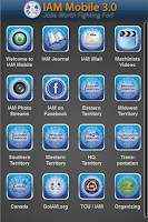 Screenshot of IAM Mobile 3.0