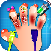 Kids hand doctor– surgery game