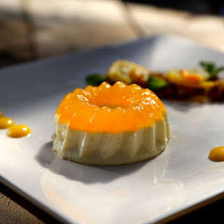 Panna Cotta with Citrus Jelly.
