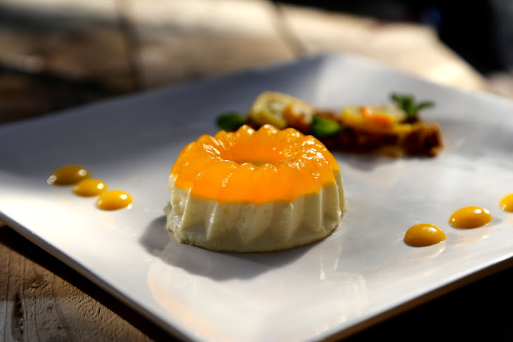 Panna Cotta with Citrus Jelly Recipe