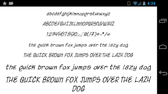 Fonts-for-FlipFont-50-Written 3
