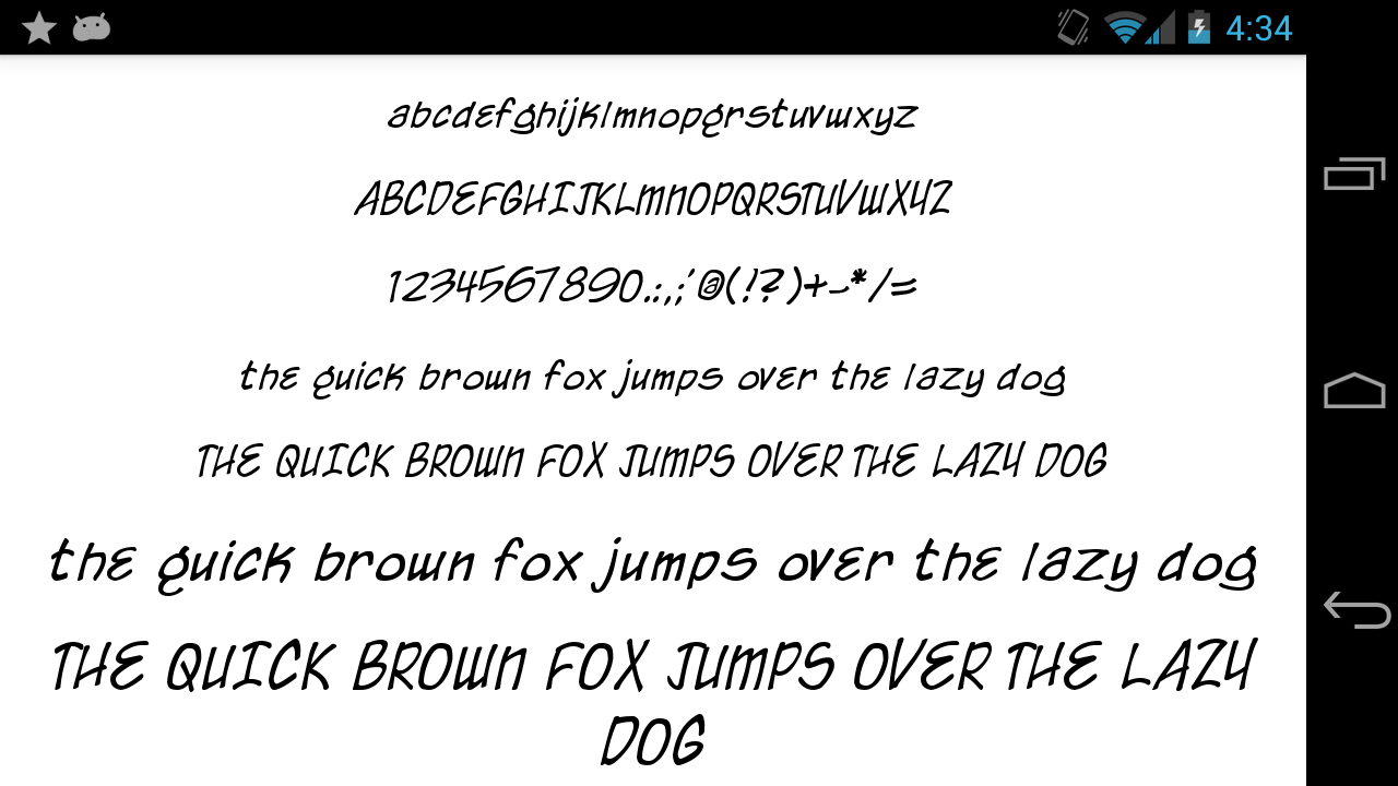 Fonts-for-FlipFont-50-Written 9