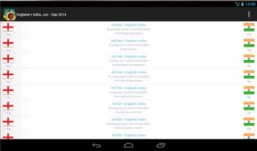 Live Cricket Scores & Schedule 1.6 screenshots 10