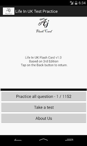 Life In UK Test Practice