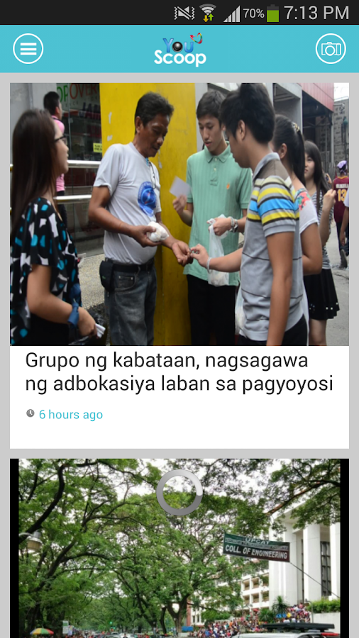 YouScoop- screenshot