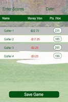 Screenshot of Golf Cash Caddie
