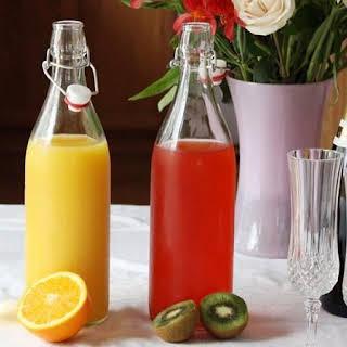 Fruity Mimosa Bar.