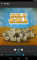 Screenshot of Holy Bible - Audio Book Ed.