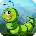 Crazy Larva Run icon