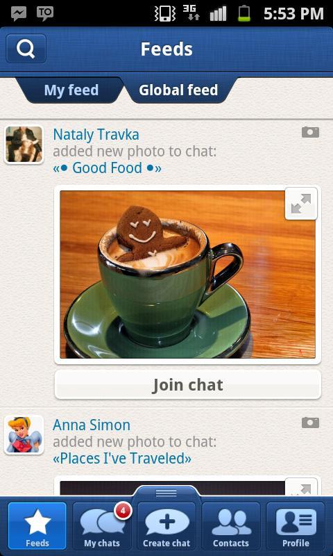 TalkOver Messenger - screenshot