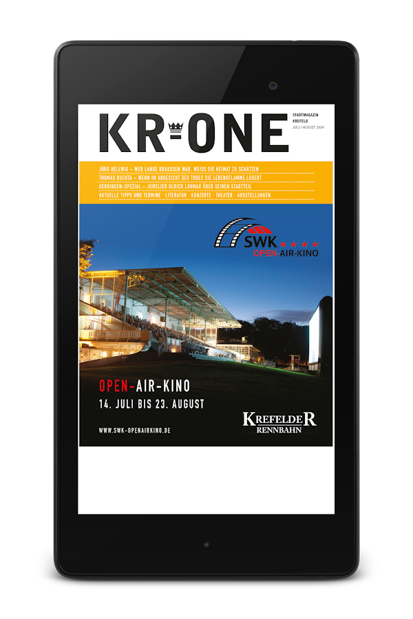 KR-ONE Magazin- screenshot