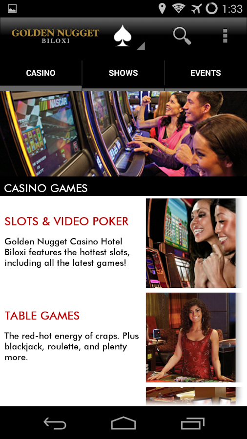 Golden Nugget Biloxi - screenshot