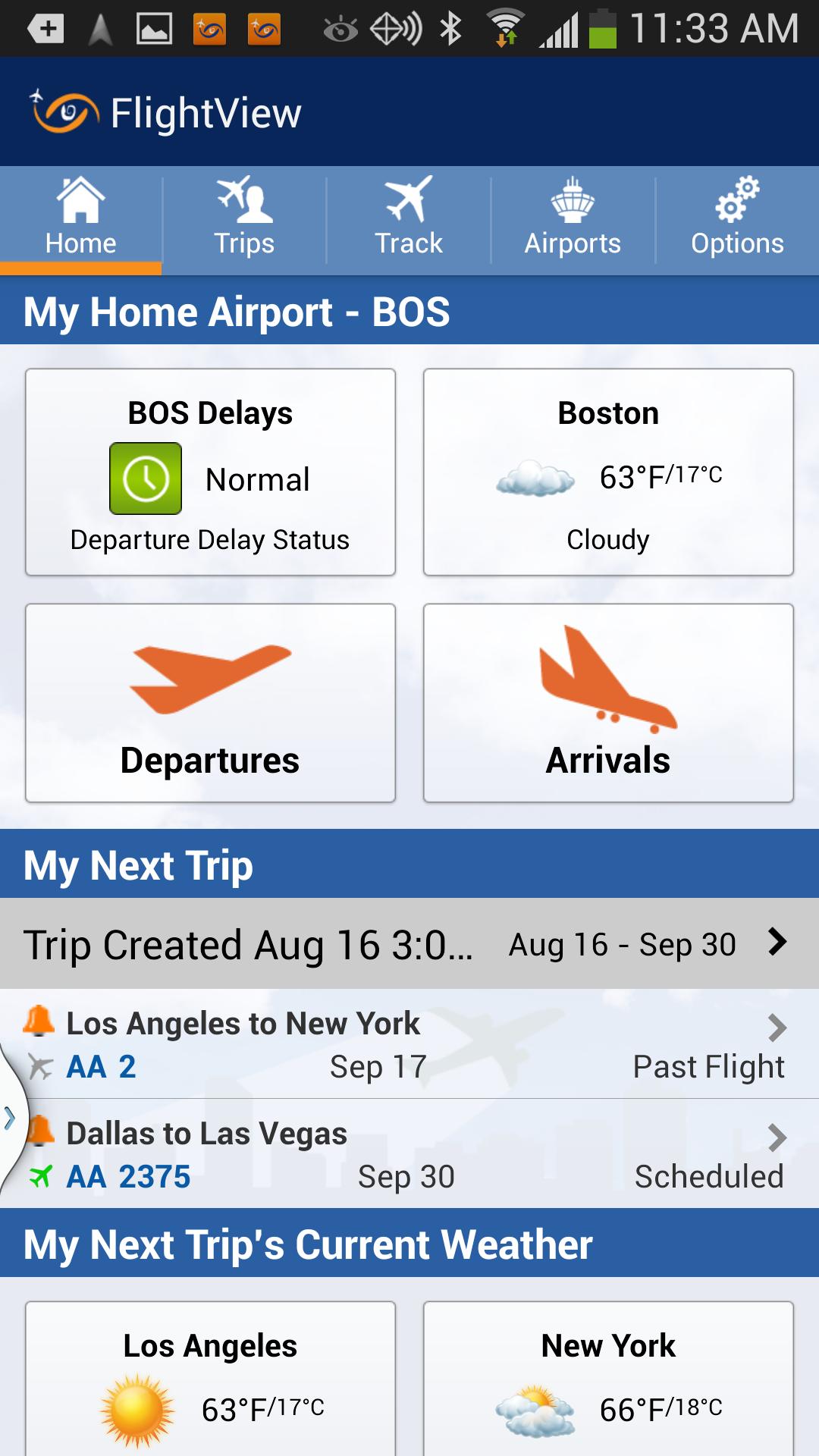 FlightView Elite FlightTracker screenshot #1