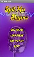 Screenshot of Spit My Rhyme - Make Songs!