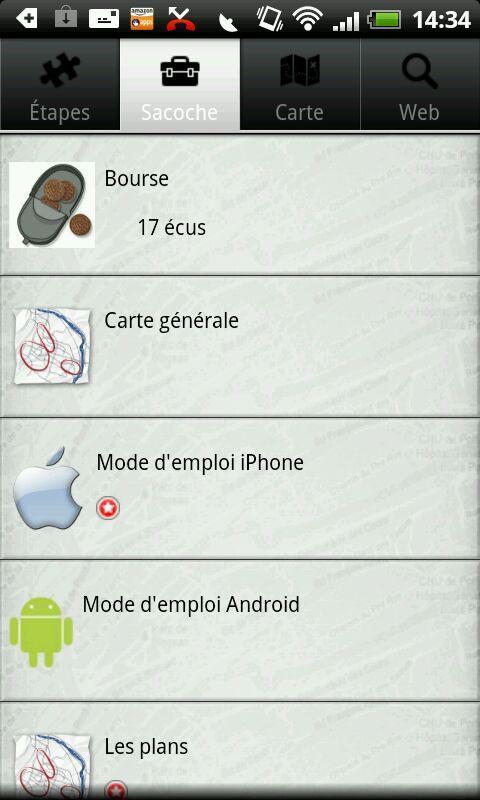 Portées Disparues- screenshot