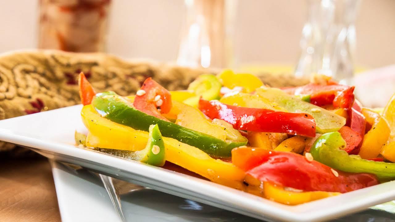 10 Best Yellow Bell Pepper Vegetarian Recipes Yummly