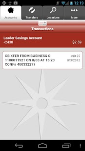 Leader Bank Mobile Banking - screenshot thumbnail