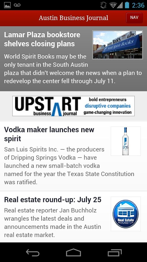 Austin Business Journal- screenshot