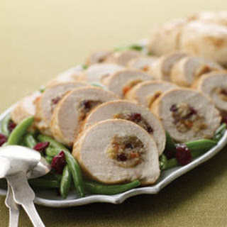 Pecan & Cranberry-stuffed Chicken Breasts.