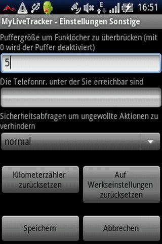 MyLiveTracker- screenshot