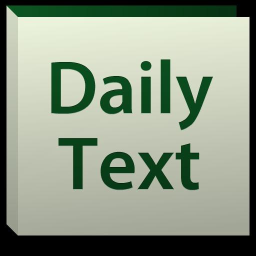 Daily Bible Text 2014 書籍 App LOGO-硬是要APP