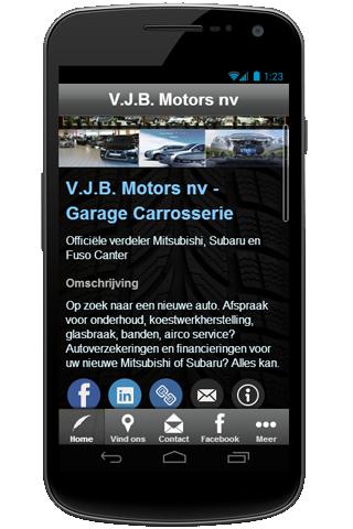 V.J.B. Motors Mobile