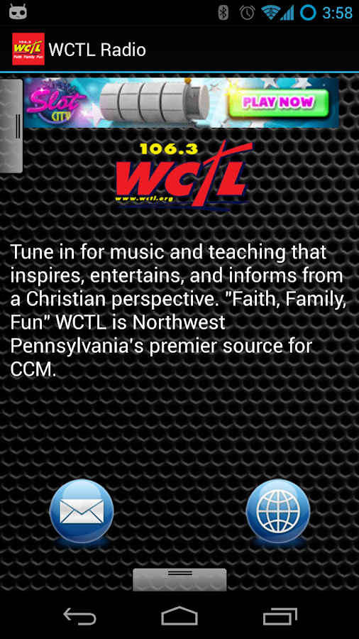 WCTL Radio - screenshot