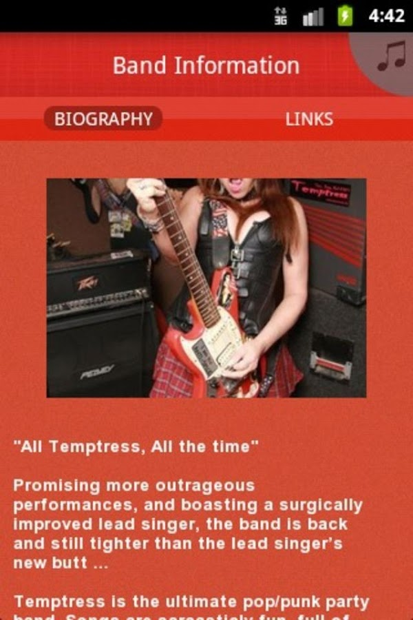 Temptress - screenshot