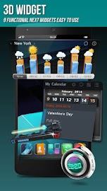 Next Launcher 3D Shell Screenshot 3