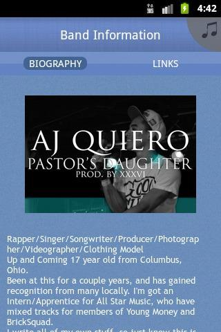 Aj Quiero - screenshot