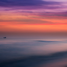 sunset by Ciprian Nafornita - Landscapes Sunsets & Sunrises