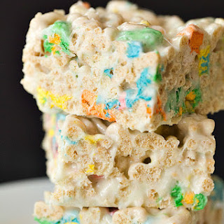 Lucky Charms Marshmallow Treats