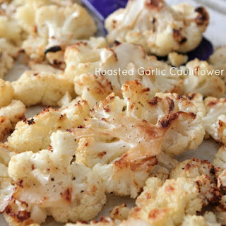 Roasted Garlic Cauliflower.