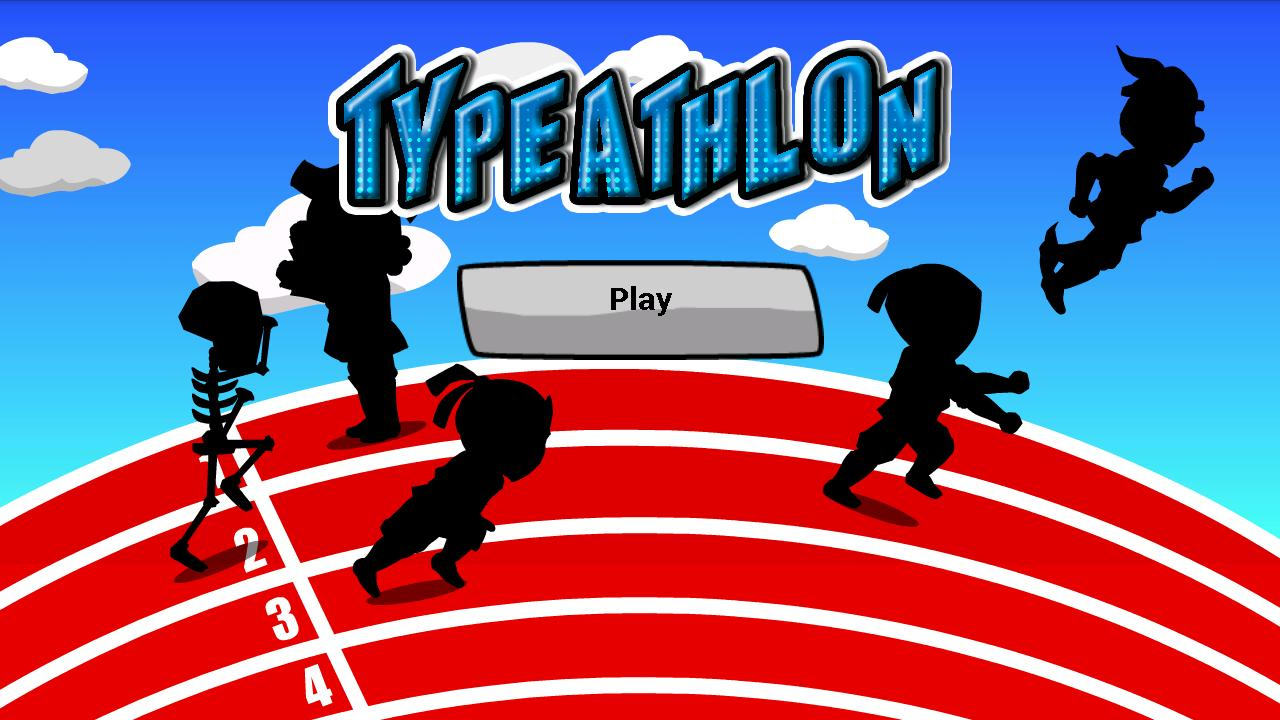TypeAthlon - screenshot