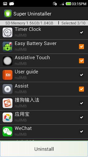 Apps Uninstall Tool