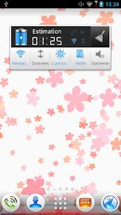 Fond d'écran- Fleurs tombantes– Vignette de la capture d'écran